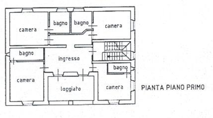 Agriturismo la piantina della villa for Planimetrie della casa di gambrel